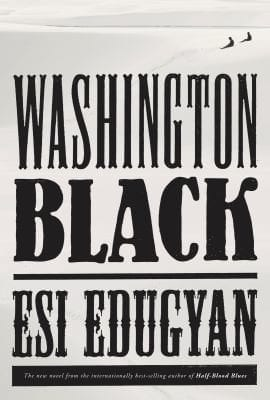 Book cover Washington black
